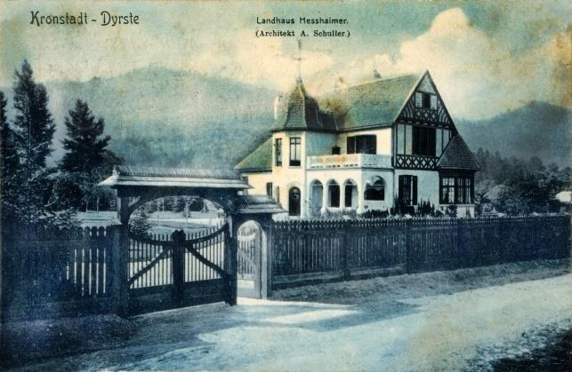 Landhaus Hesshaimer in 1904